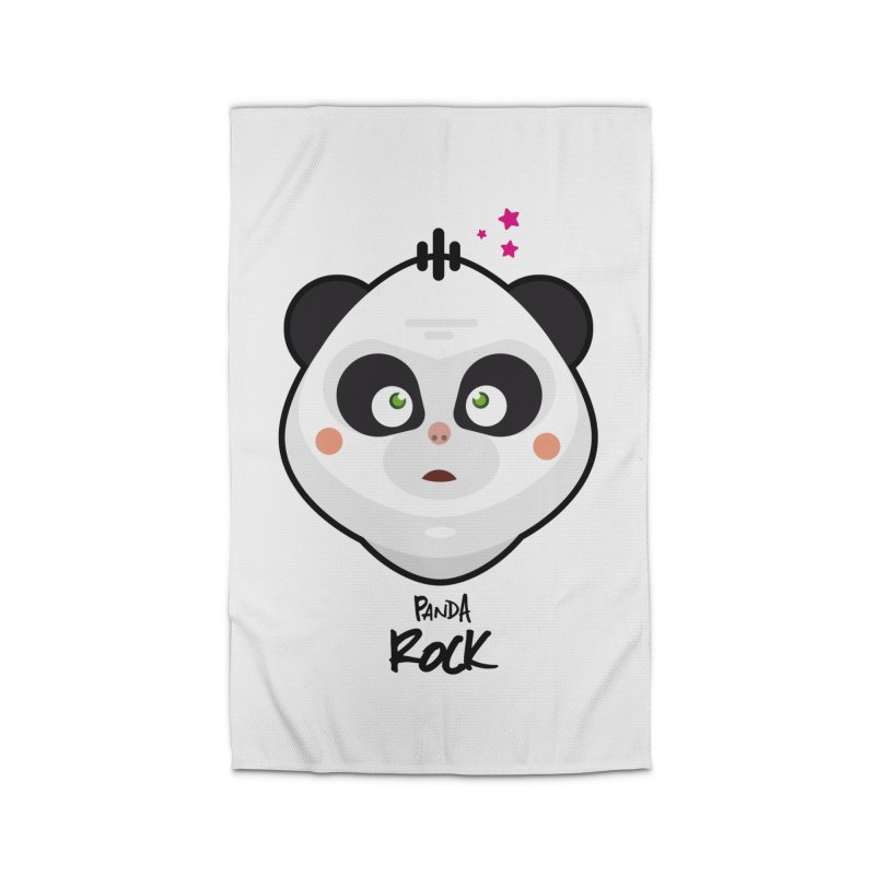 Panda roche Home Rug by lepetitcalamar's Artist Shop