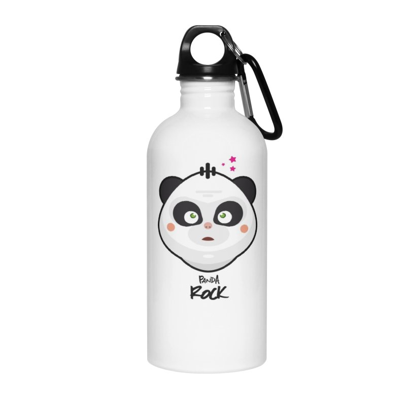 Panda roche Accessories Water Bottle by lepetitcalamar's Artist Shop