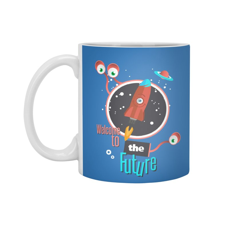 Bienvenue dans le futur Accessories Mug by lepetitcalamar's Artist Shop