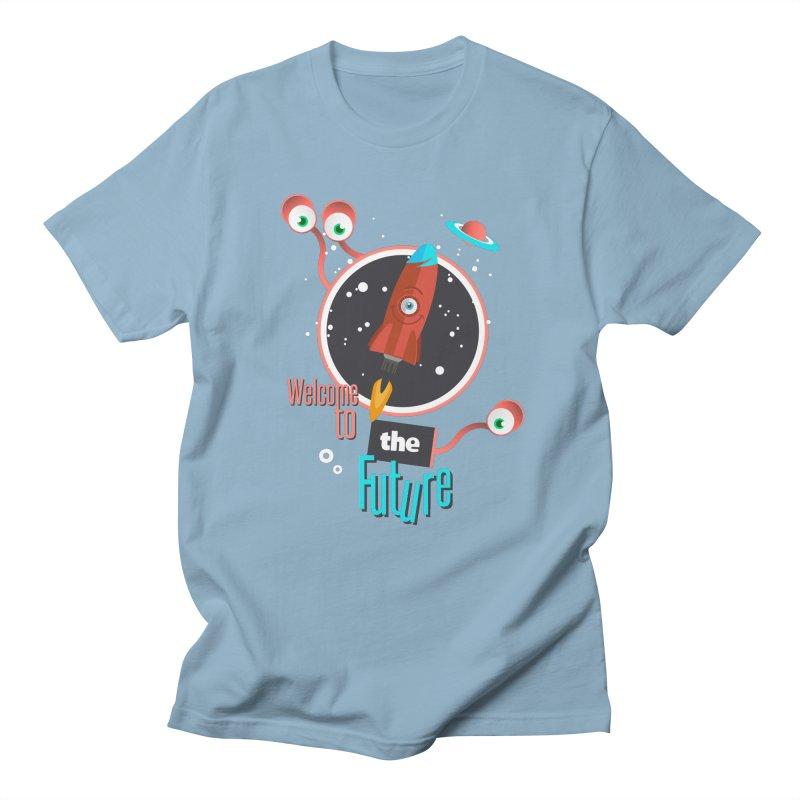 Bienvenue dans le futur Men's T-Shirt by lepetitcalamar's Artist Shop