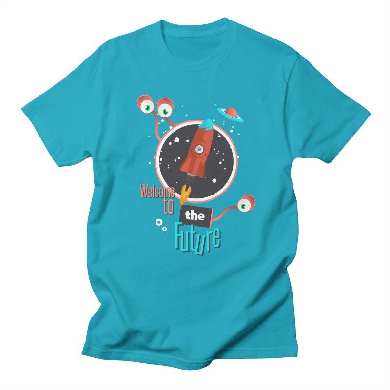 Bienvenue dans le futur Women's Unisex T-Shirt by lepetitcalamar's Artist Shop