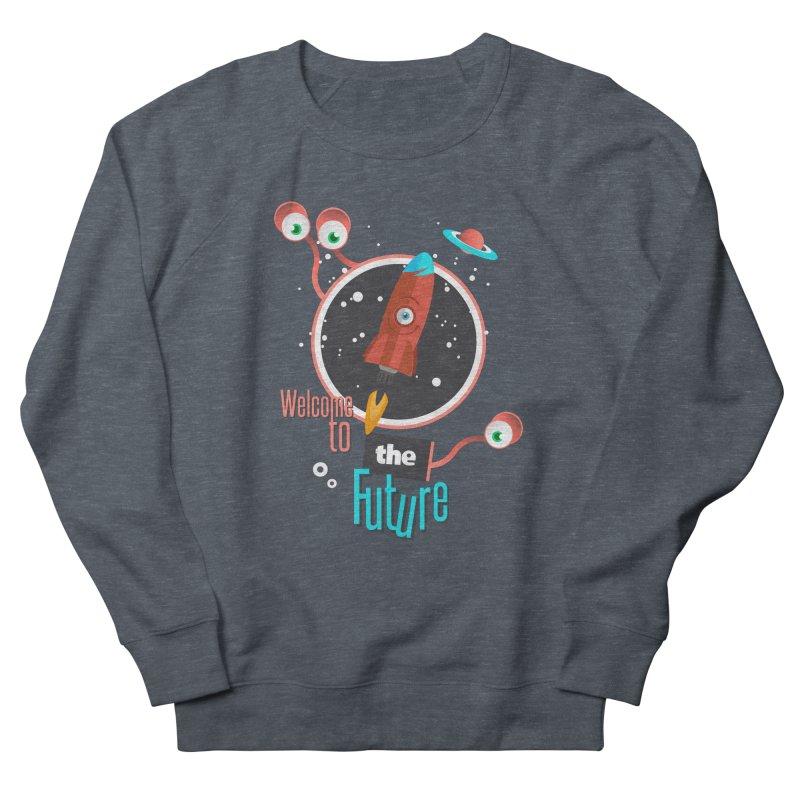 Bienvenue dans le futur Women's Sweatshirt by lepetitcalamar's Artist Shop