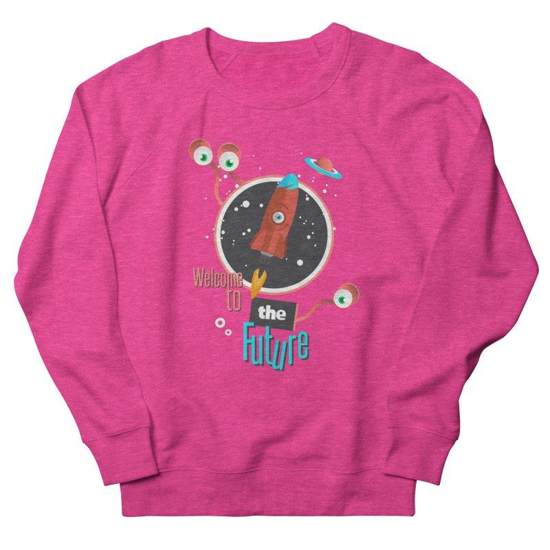 Bienvenue dans le futur Men's Sweatshirt by lepetitcalamar's Artist Shop