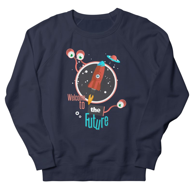 Bienvenue dans le futur Men's Sweatshirt by lepetitcalamar's Artist Shop