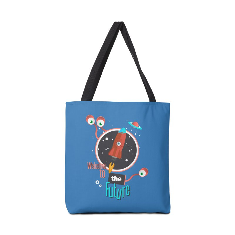 Bienvenue dans le futur Accessories Bag by lepetitcalamar's Artist Shop