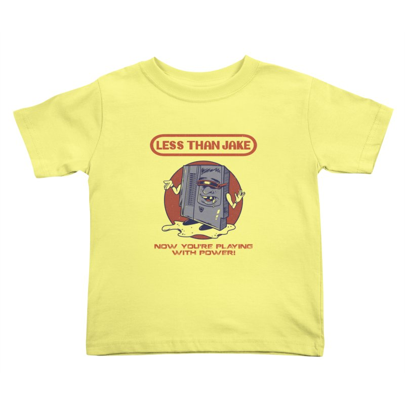 Cartridge Kids Toddler T-Shirt by Less Than Jake T-Shirts and more!