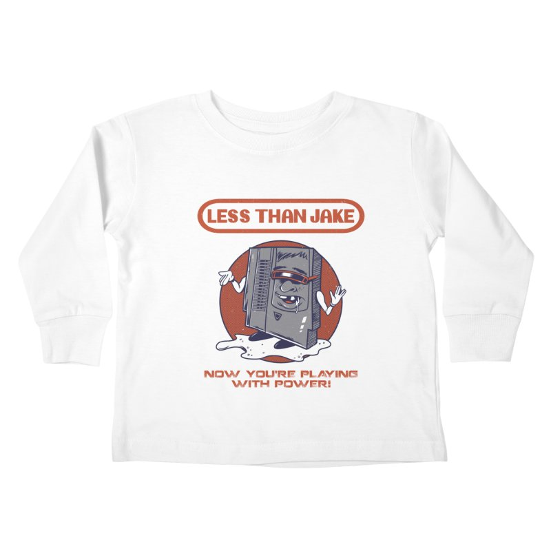 Cartridge Kids Toddler Longsleeve T-Shirt by Less Than Jake T-Shirts and more!