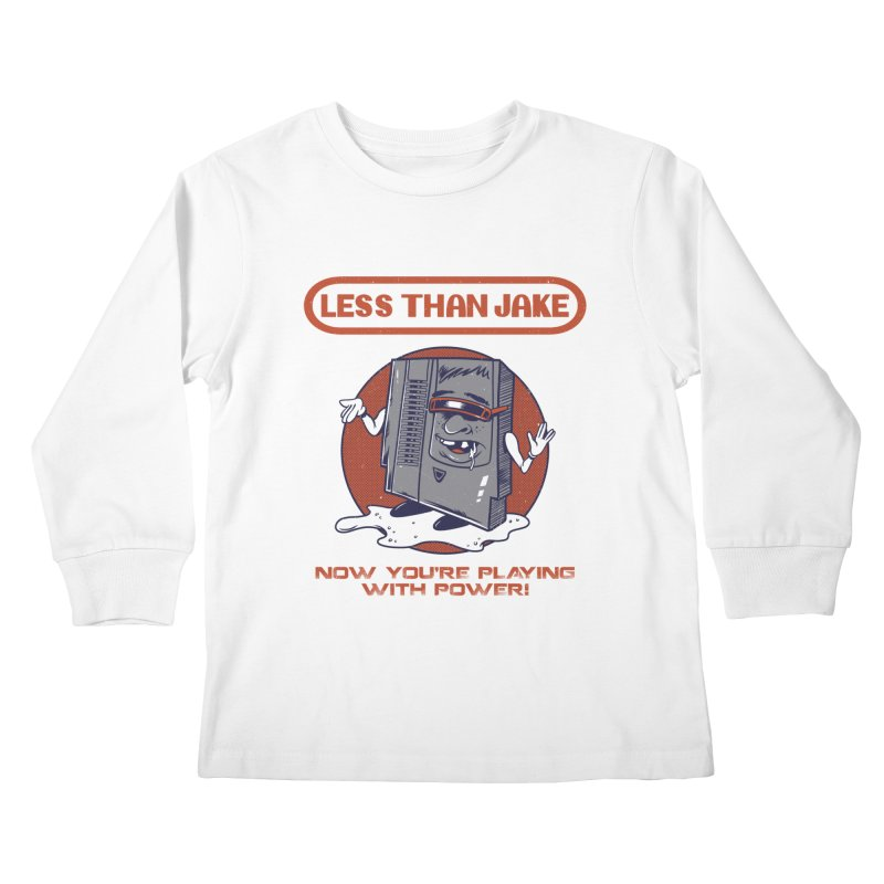 Cartridge Kids Longsleeve T-Shirt by Less Than Jake T-Shirts and more!