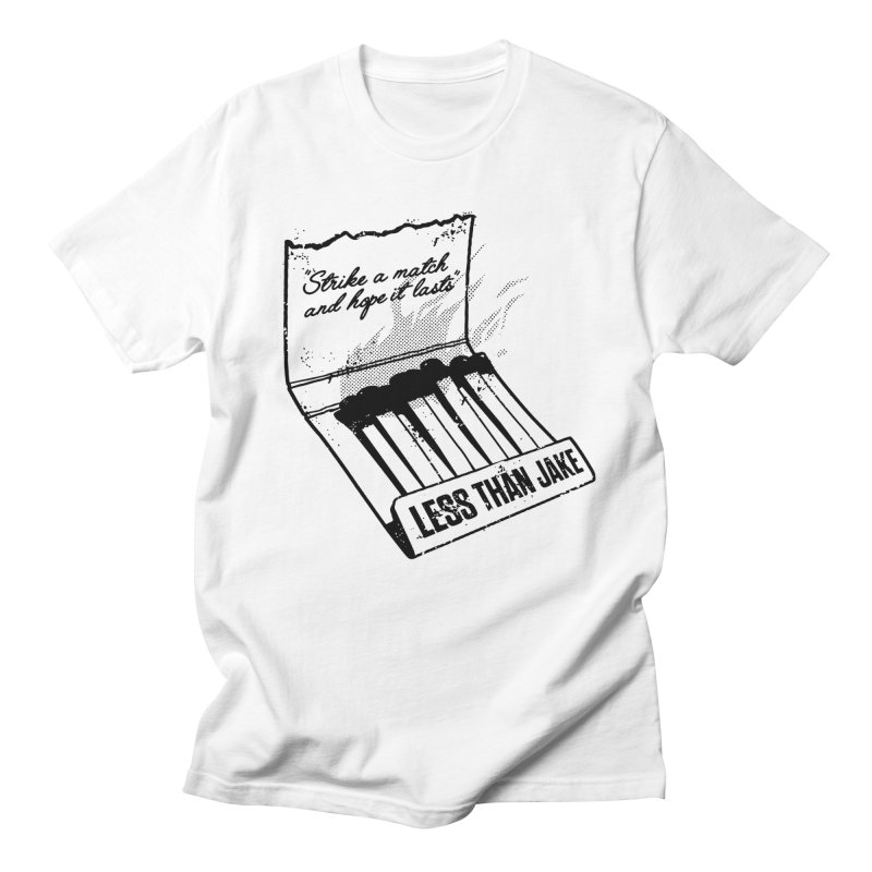 LTJ Strike in Men's Regular T-Shirt White by Less Than Jake T-Shirts and more!