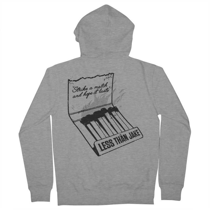 LTJ Strike Men's French Terry Zip-Up Hoody by Less Than Jake T-Shirts and more!