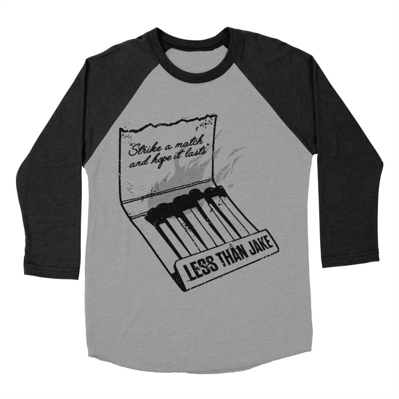 LTJ Strike Men's Baseball Triblend Longsleeve T-Shirt by Less Than Jake T-Shirts and more!