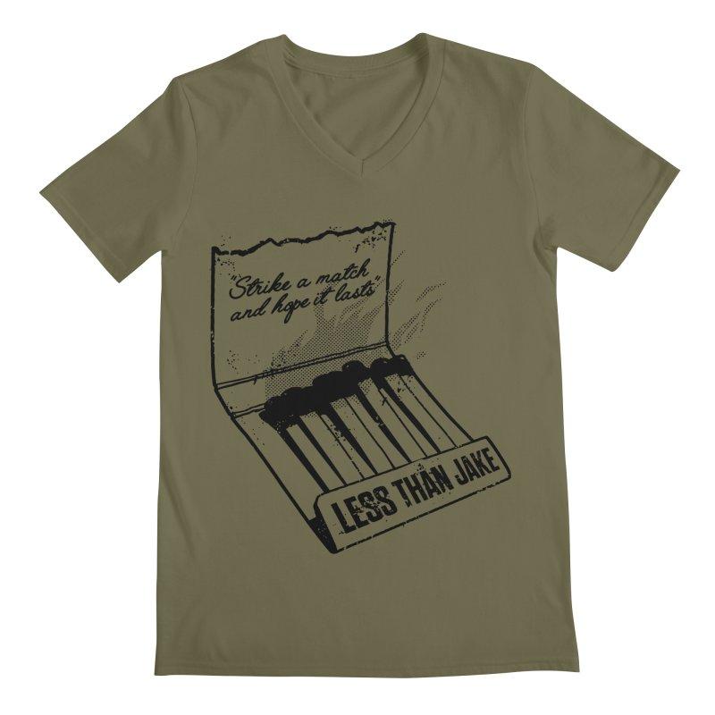 LTJ Strike Men's V-Neck by Less Than Jake T-Shirts and more!