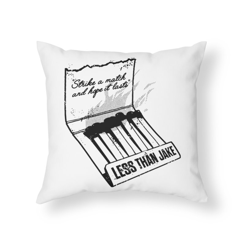 LTJ Strike Home Throw Pillow by Less Than Jake T-Shirts and more!
