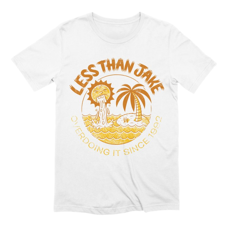 LTJ Party Sun in Men's Extra Soft T-Shirt White by Less Than Jake T-Shirts and more!