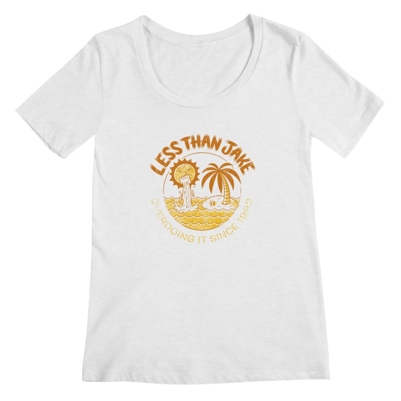 LTJ Party Sun Women's Regular Scoop Neck by Less Than Jake T-Shirts and more!