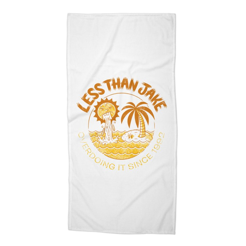 LTJ Party Sun Accessories Beach Towel by Less Than Jake T-Shirts and more!
