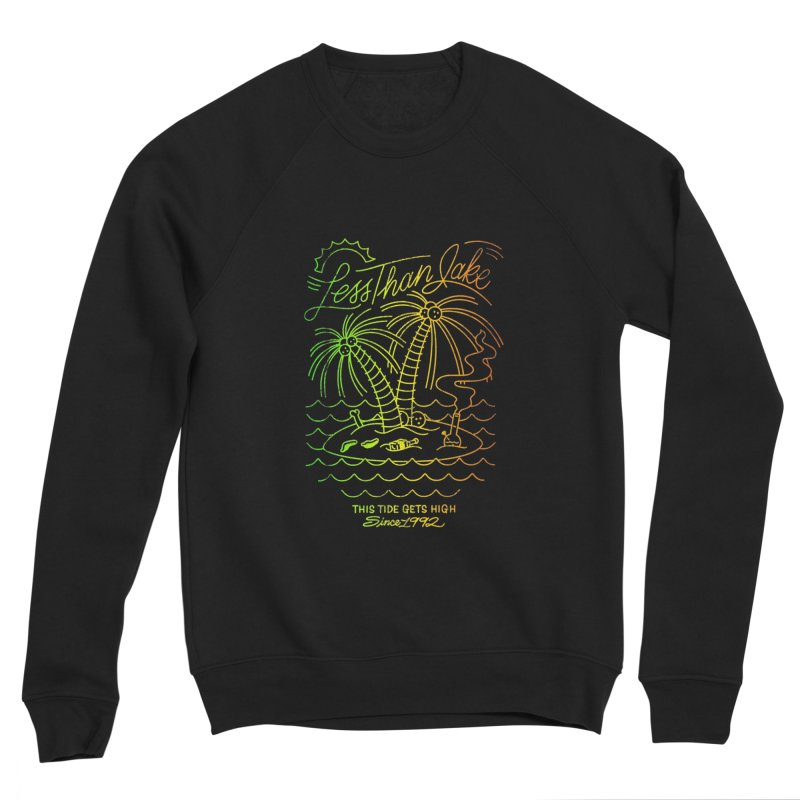 High Tide in Women's Sponge Fleece Sweatshirt Black by Less Than Jake T-Shirts and more!