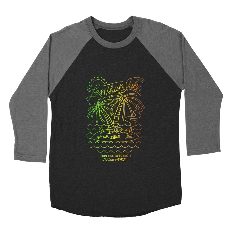 High Tide Men's Baseball Triblend Longsleeve T-Shirt by Less Than Jake T-Shirts and more!