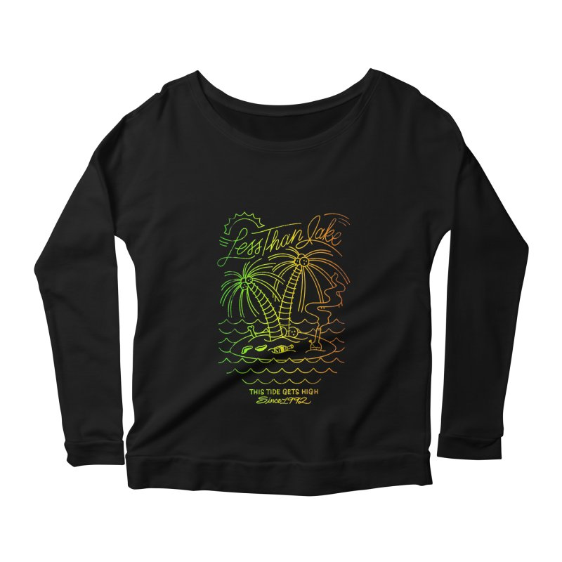 High Tide Women's Scoop Neck Longsleeve T-Shirt by Less Than Jake T-Shirts and more!