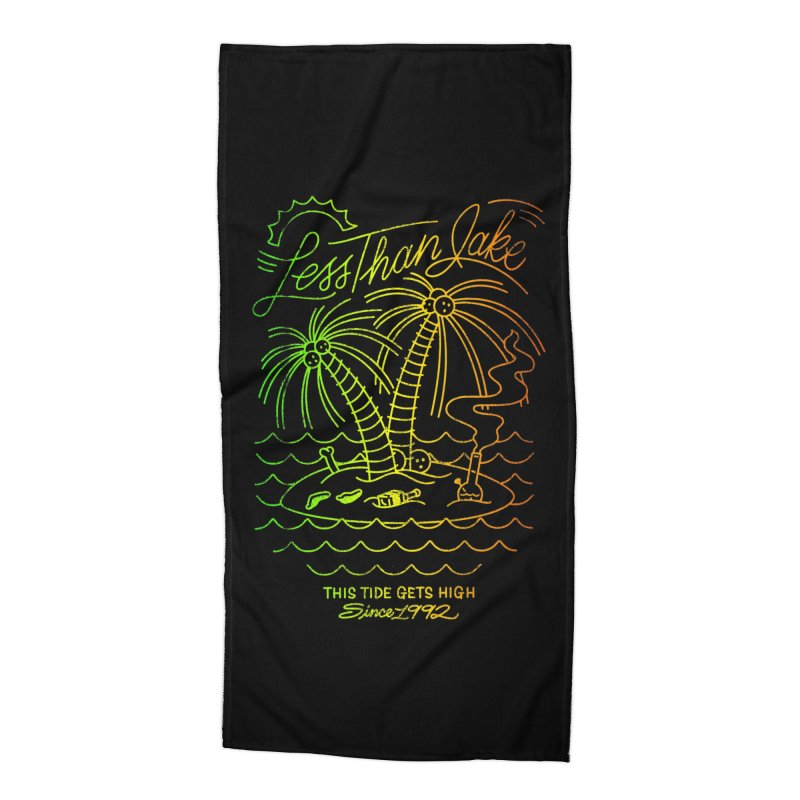 High Tide Accessories Beach Towel by Less Than Jake T-Shirts and more!
