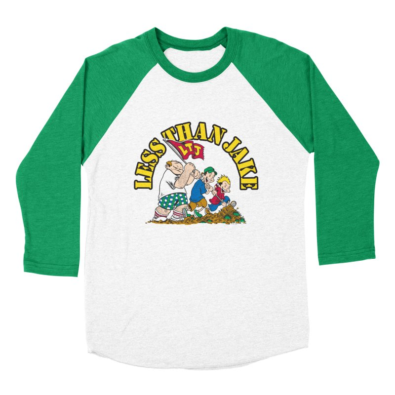 LTJima Men's Baseball Triblend Longsleeve T-Shirt by Less Than Jake T-Shirts and more!