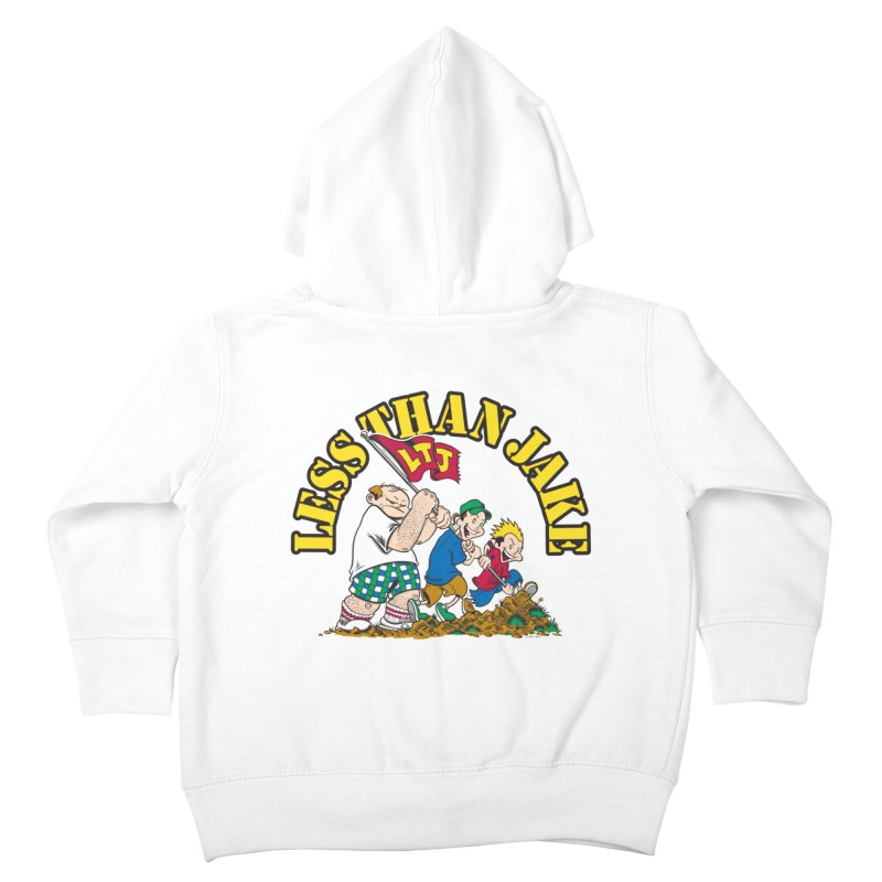 LTJima Kids Toddler Zip-Up Hoody by Less Than Jake T-Shirts and more!