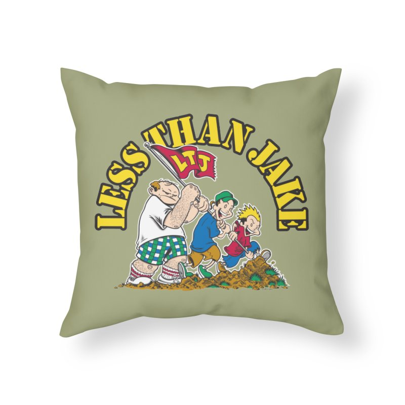 LTJima Home Throw Pillow by Less Than Jake T-Shirts and more!
