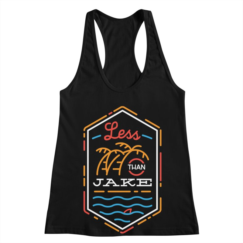 LTJ Neon Summer Women's Racerback Tank by Less Than Jake T-Shirts and more!