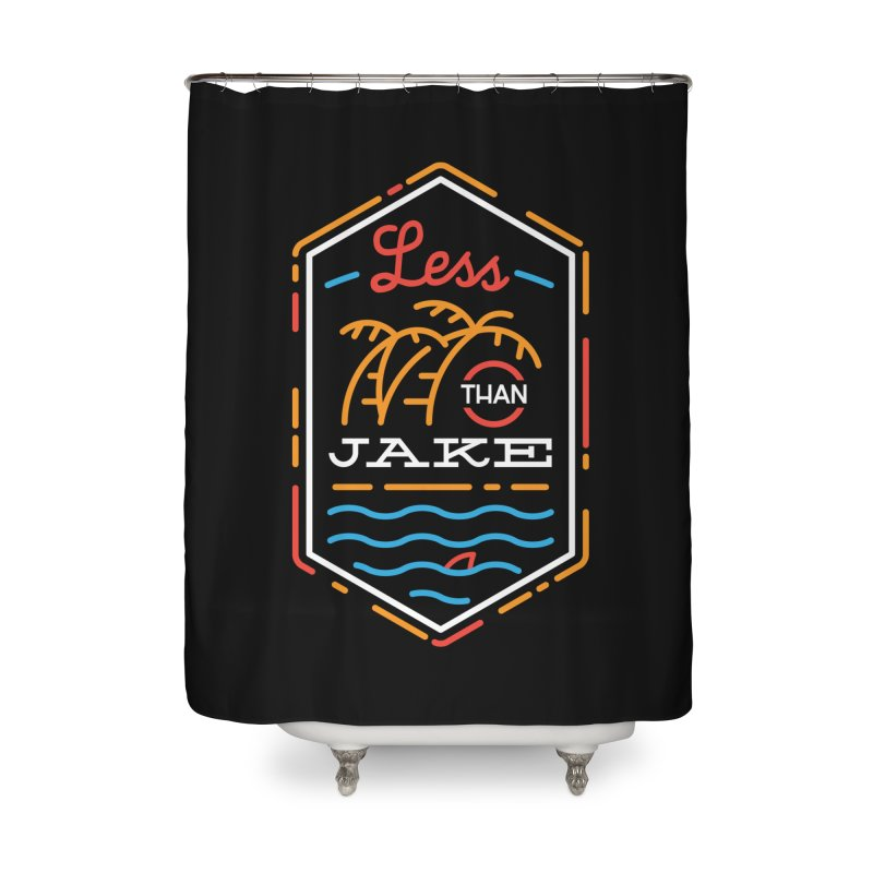 LTJ Neon Summer Home Shower Curtain by Less Than Jake T-Shirts and more!