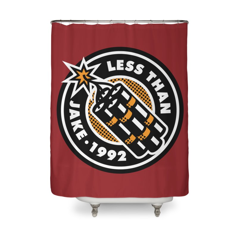 LTJ Bomb Home Shower Curtain by Less Than Jake T-Shirts and more!