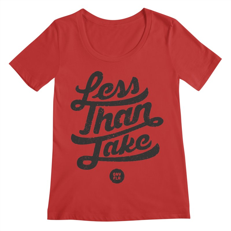 LTJ Script Women's Regular Scoop Neck by Less Than Jake T-Shirts and more!