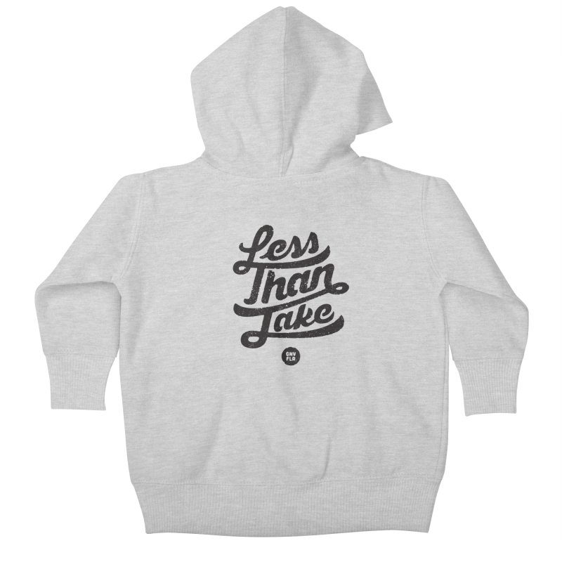 LTJ Script Kids Baby Zip-Up Hoody by Less Than Jake T-Shirts and more!