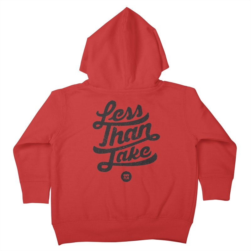 LTJ Script Kids Toddler Zip-Up Hoody by Less Than Jake T-Shirts and more!