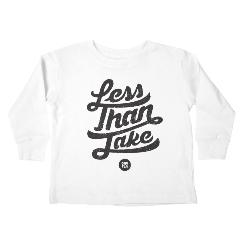 LTJ Script Kids Toddler Longsleeve T-Shirt by Less Than Jake T-Shirts and more!