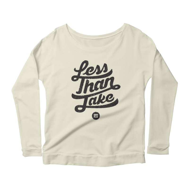 LTJ Script Women's Scoop Neck Longsleeve T-Shirt by Less Than Jake T-Shirts and more!