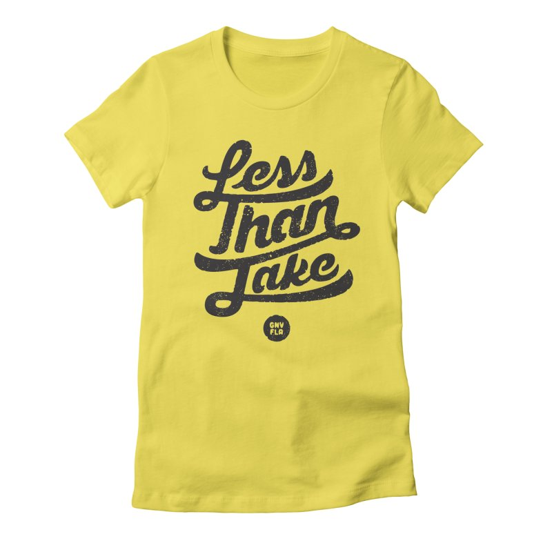 LTJ Script Women's T-Shirt by Less Than Jake T-Shirts and more!