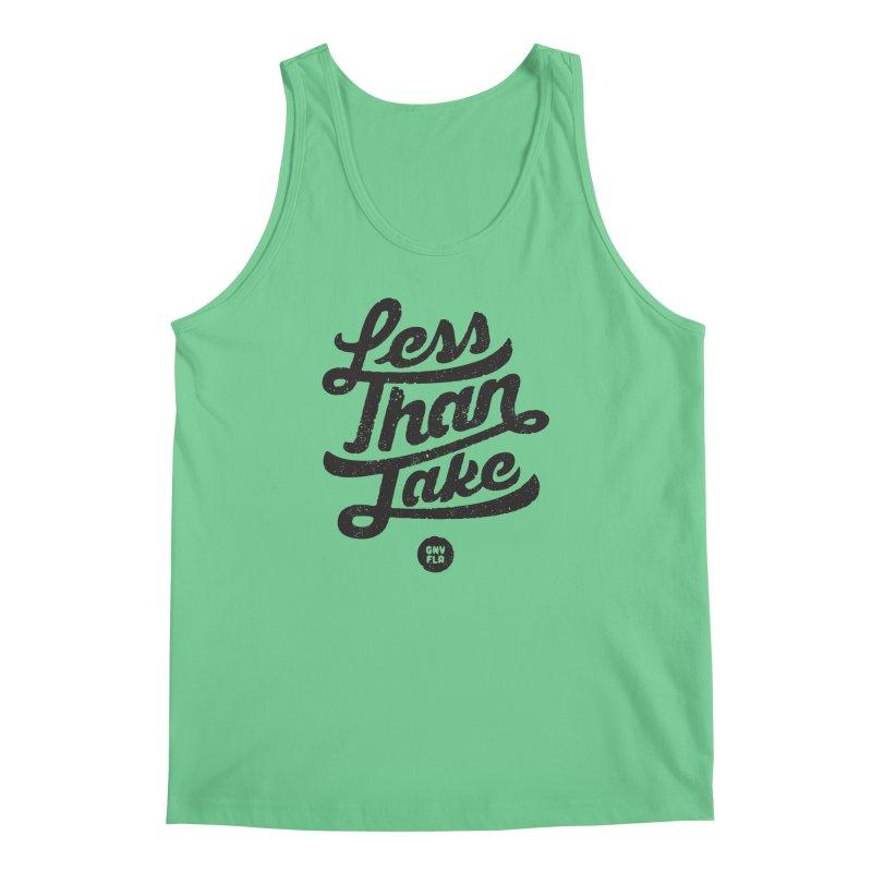 LTJ Script Men's Regular Tank by Less Than Jake T-Shirts and more!