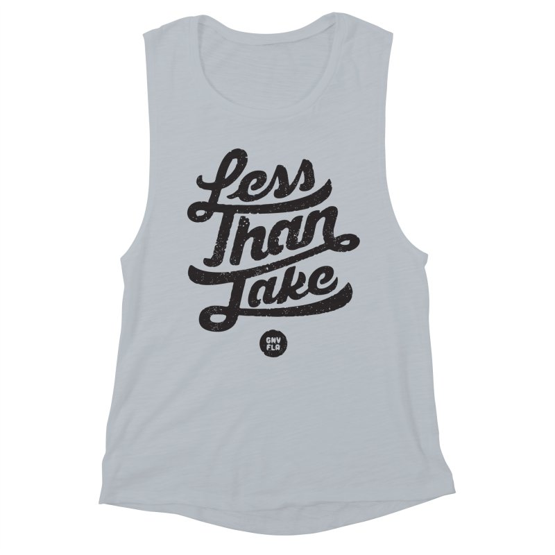 LTJ Script Women's Muscle Tank by Less Than Jake T-Shirts and more!