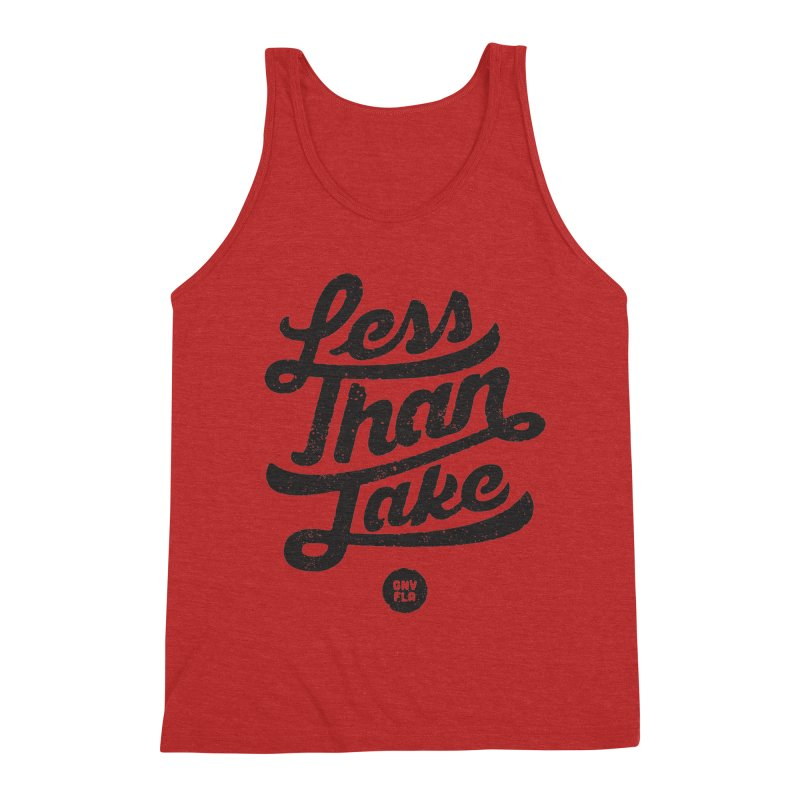 LTJ Script Men's Triblend Tank by Less Than Jake T-Shirts and more!