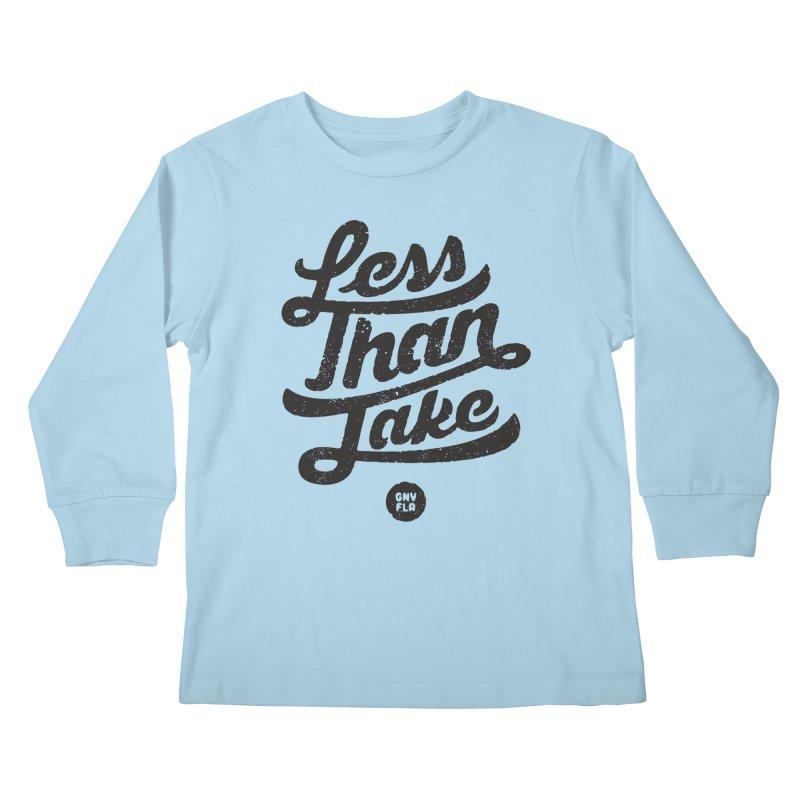 LTJ Script Kids Longsleeve T-Shirt by Less Than Jake T-Shirts and more!