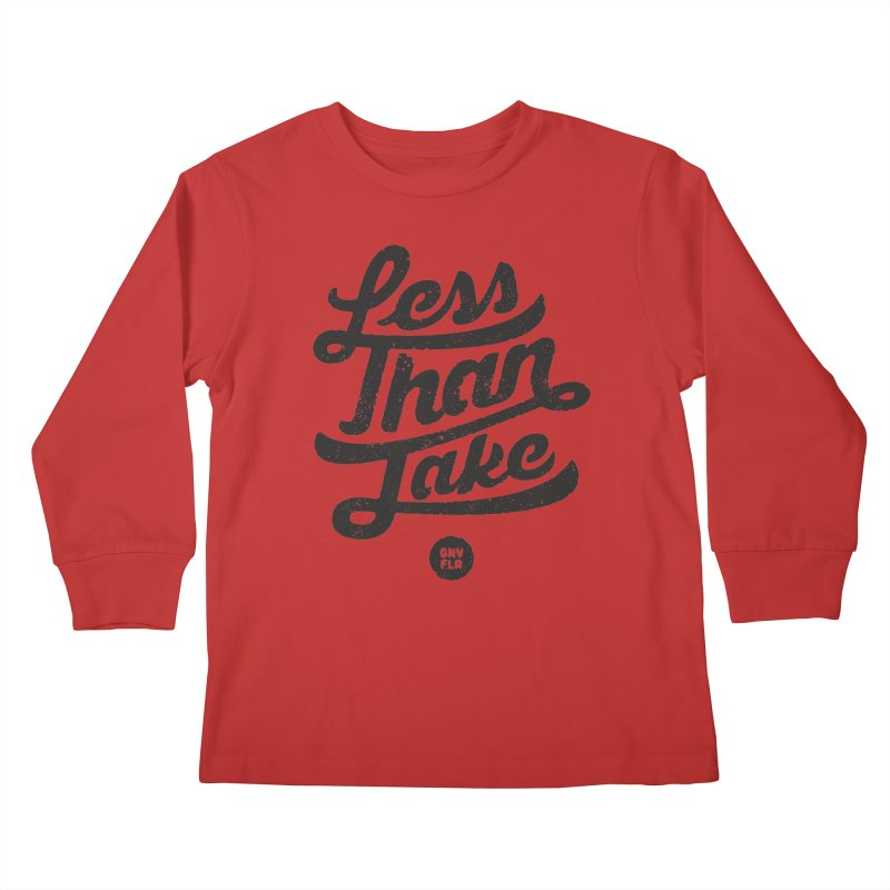 LTJ Script Kids Longsleeve T-Shirt by Less Than Jake T-Shirts and more!