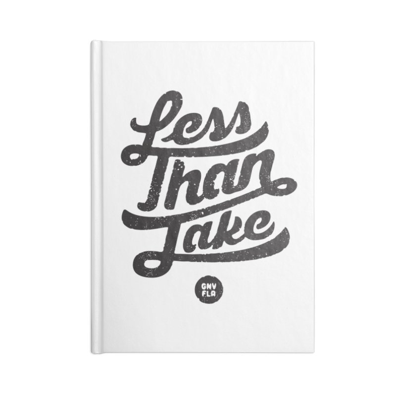 LTJ Script Accessories Blank Journal Notebook by Less Than Jake T-Shirts and more!