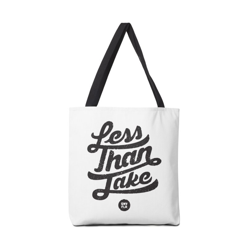 LTJ Script Accessories Tote Bag Bag by Less Than Jake T-Shirts and more!