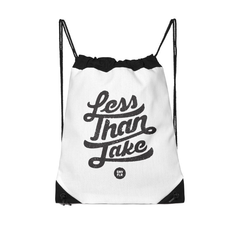 LTJ Script Accessories Drawstring Bag Bag by Less Than Jake T-Shirts and more!