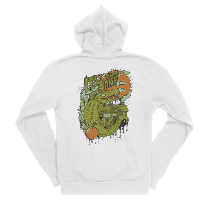 LTJ Gator Gville Men's Zip-Up Hoody by Less Than Jake T-Shirts and more!