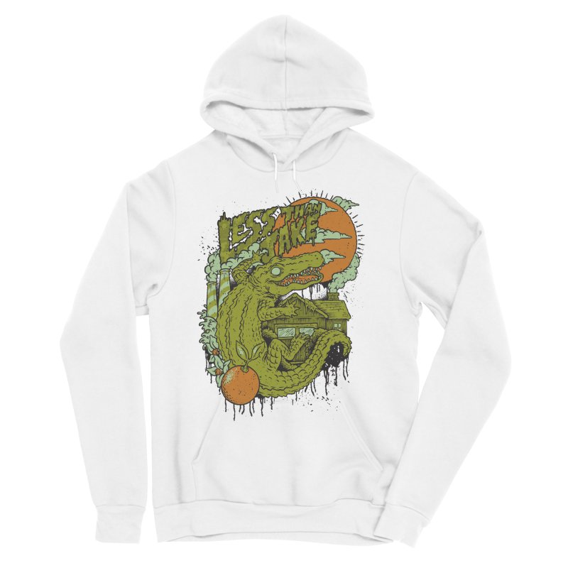 LTJ Gator Gville Men's Sponge Fleece Pullover Hoody by Less Than Jake T-Shirts and more!