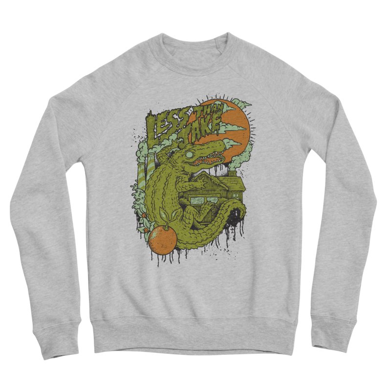 LTJ Gator Gville Women's Sponge Fleece Sweatshirt by Less Than Jake T-Shirts and more!