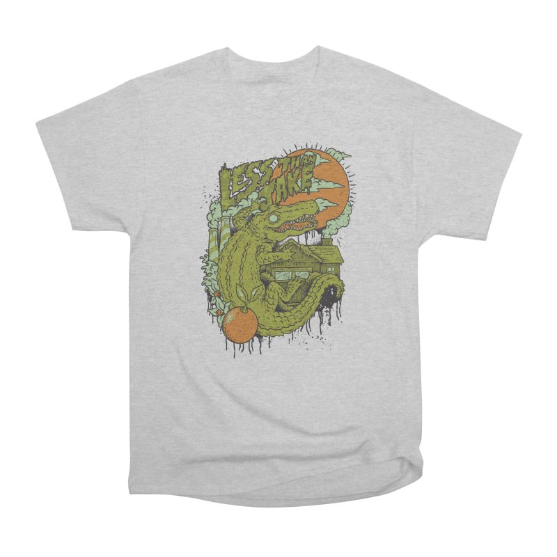 LTJ Gator Gville Men's Heavyweight T-Shirt by Less Than Jake T-Shirts and more!
