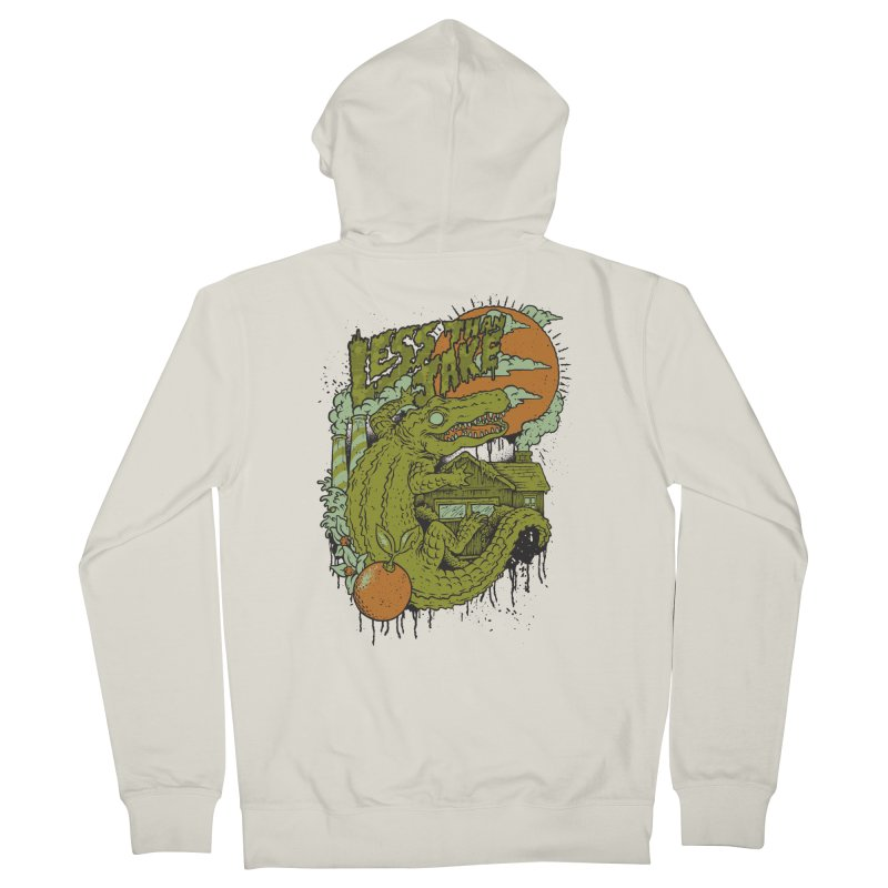 LTJ Gator Gville Men's French Terry Zip-Up Hoody by Less Than Jake T-Shirts and more!