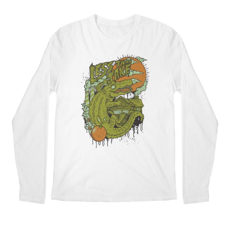 LTJ Gator Gville Men's Regular Longsleeve T-Shirt by Less Than Jake T-Shirts and more!